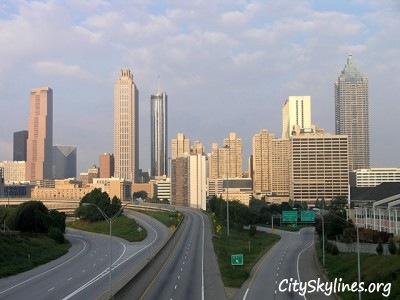 Atlanta Georgia, City Skyline