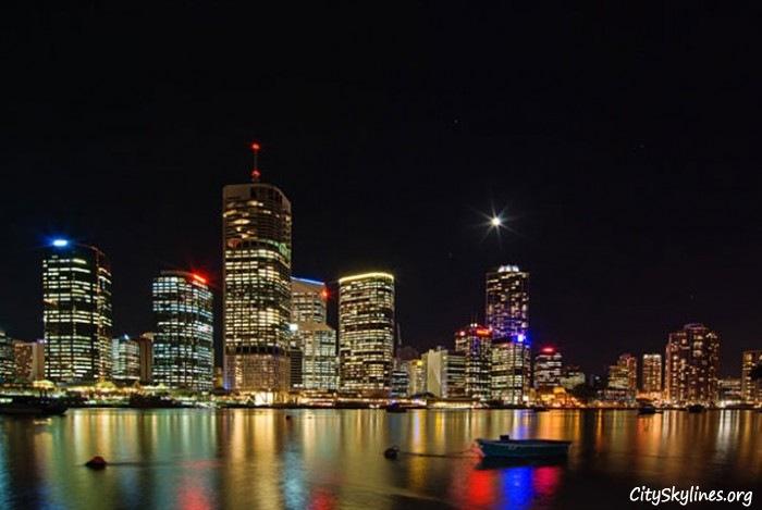 Brisbane Nigh Sky, Australia