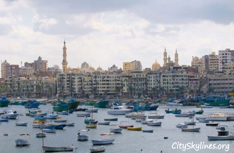 Alexandria City Harbor, Egypt