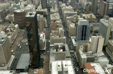 Johannesburg Skyline, Day time