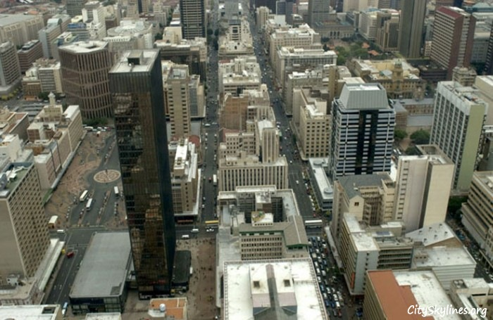 Johannesburg Skyline, Day time