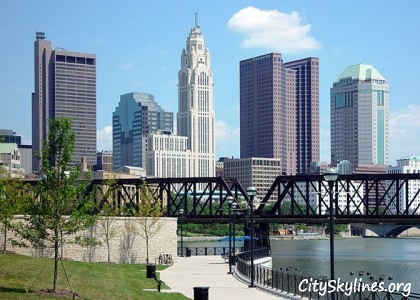 Columbus Ohio, City Skyline