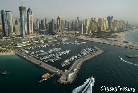 Dubai Coastal Skyline