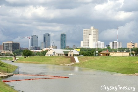 Fort Worth City Skyline, Texas