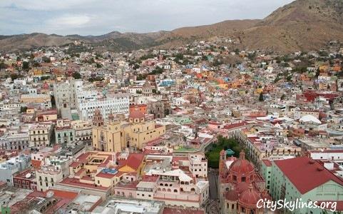 Guanajuato City Skyline, Mexico