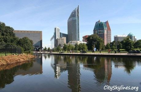 The Hague, Holland Skyline