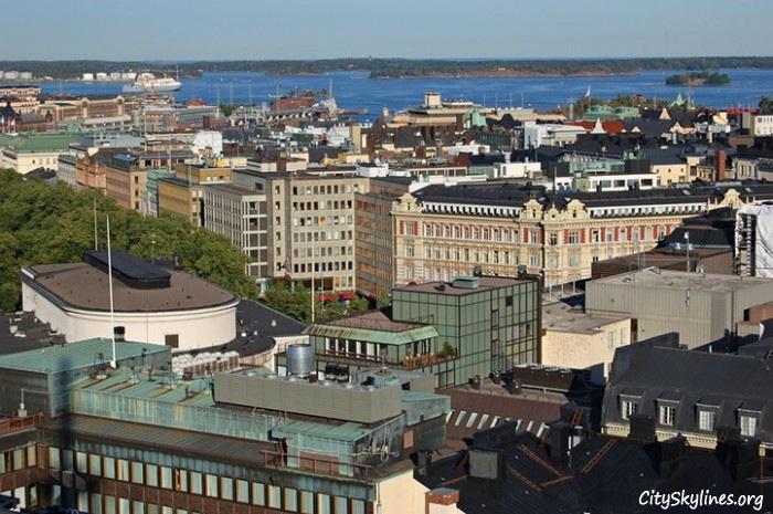 Helsinki City Skyline, Finland