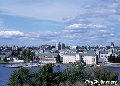 Kingston City Skyline, Ontario Canada