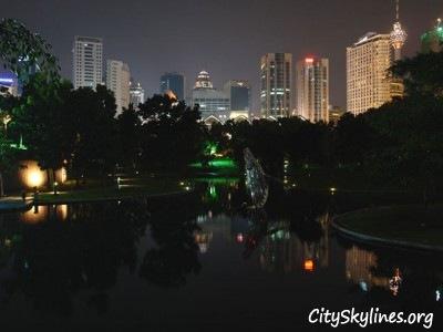 Kuala Lumpur City Skyline - Park View