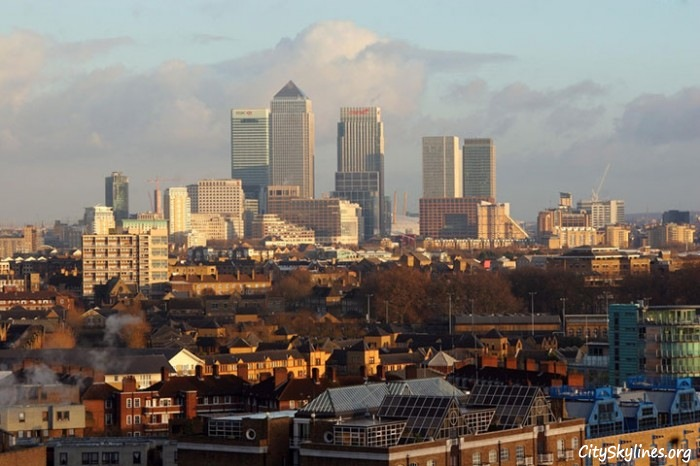 London City Skyline, United Kingdom
