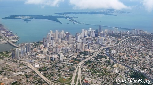 City of Miami Skyline, Florida