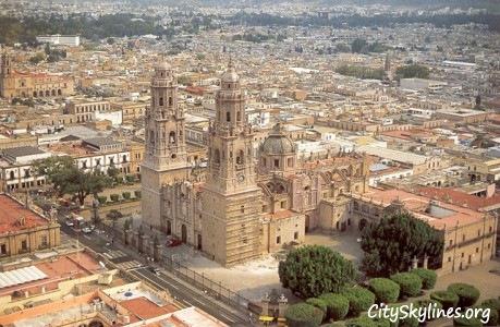 Morelia City Skyline, Michoacán Mexcio