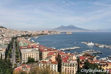 Naples City Skyline, Ocean overlook
