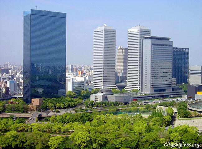 Osaka Japan, City Skyline