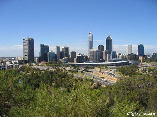 Perth City Skyline, Western Australia