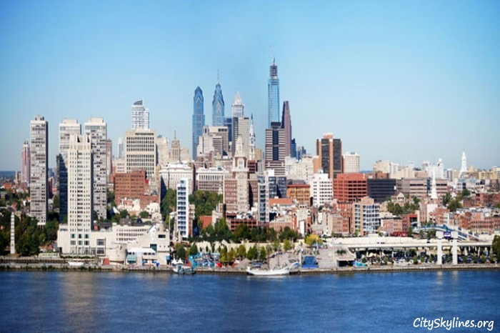 Philadelphia city skyline pennsylvania for Us city skylines photos