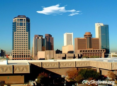 Phoenix City Skyline, Civic Plaza