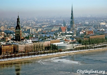 Riga City, Winter
