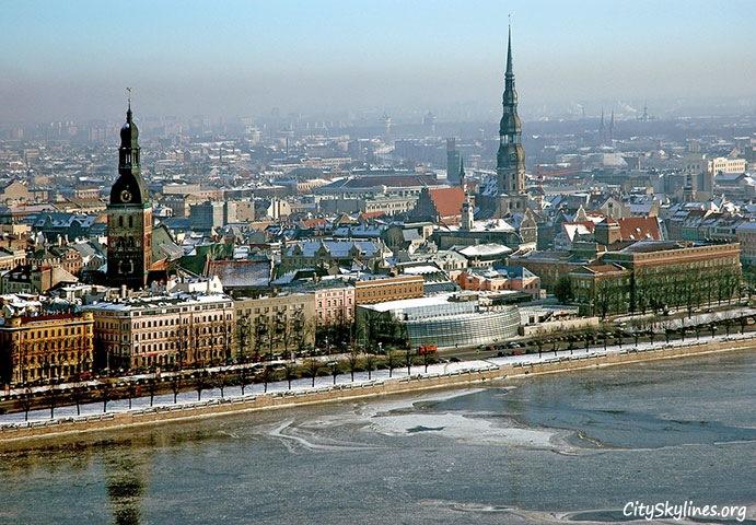 Riga City, Winter