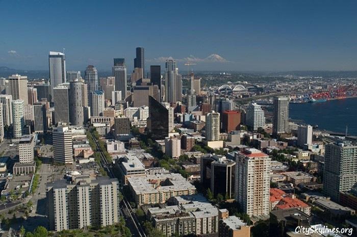 Seattle City Skyline, Washington