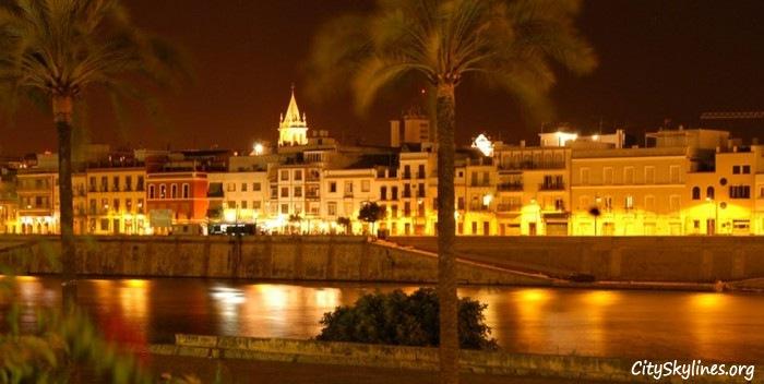 Seville City Skyline, Spain
