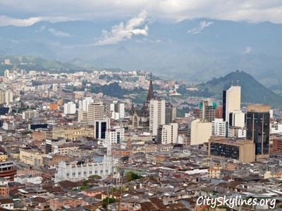 Manizales City Skyline, Colombia