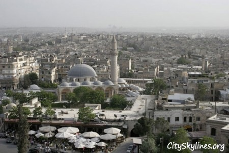 Aleppo City Skyline, Syria