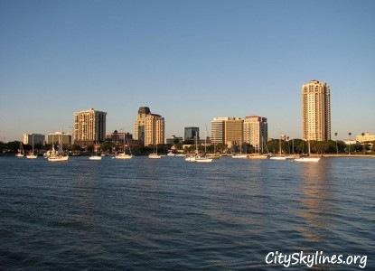 City of St. Petersburg, Florida Skyline