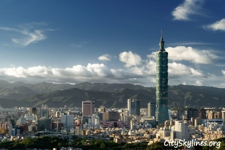 Taipei City Skyline, Taiwan