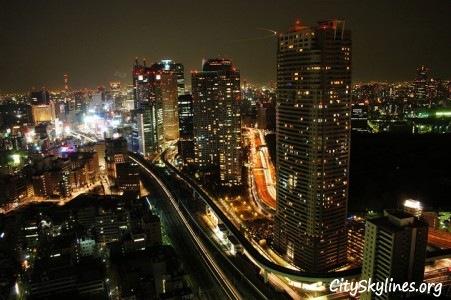 Tokyo City, Night Overlook