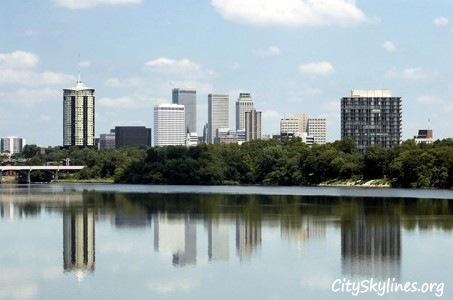 Tulsa Oklahoma City Skyline