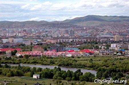 Ulan Bator City Skyline, Mongolia