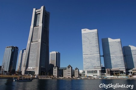 Yokohama City Skyline, Japan