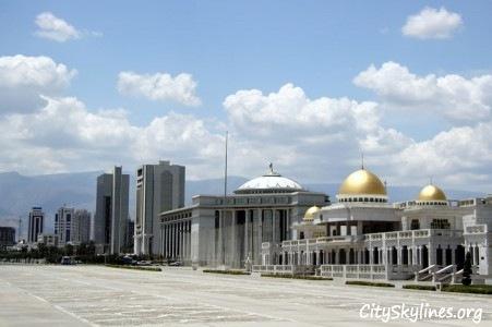 Ashgabat City Skyline, Turkmenistan