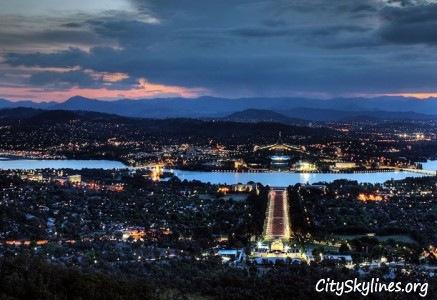 Canberra City - Capital City of Australia