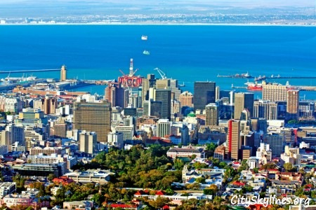 Cape Town City Skyline, South Africa
