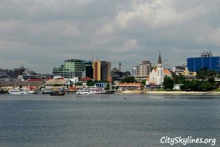 Dar es Salaam City Skyline, Tanzania