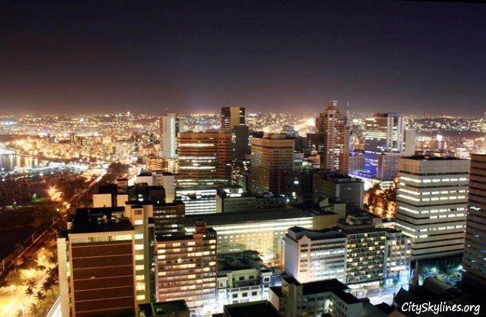 Durban City at Night