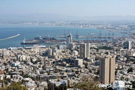 Haifa, Israel - Harbor Overlook
