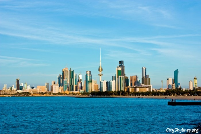 Kuwait City Skyline, Kuwait