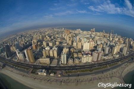 Kuwait City, Beach Overlook