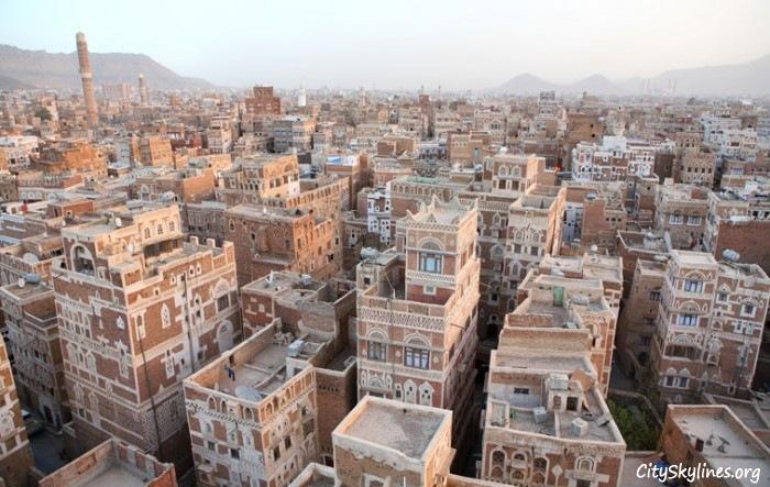 Old City Sana'a, Yemen