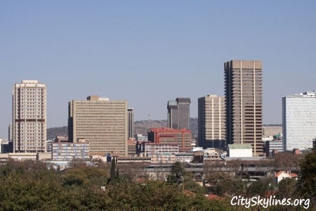Pretoria City Skyline, South Africa