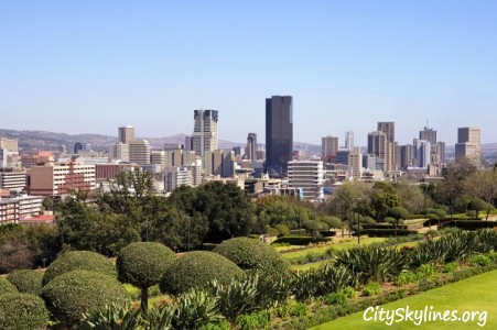 Pretoria, South Africa - Mountain Backdrop