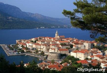 Korčula Skyline, Croatia