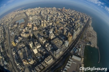 Kuwait City - Sky Overlook