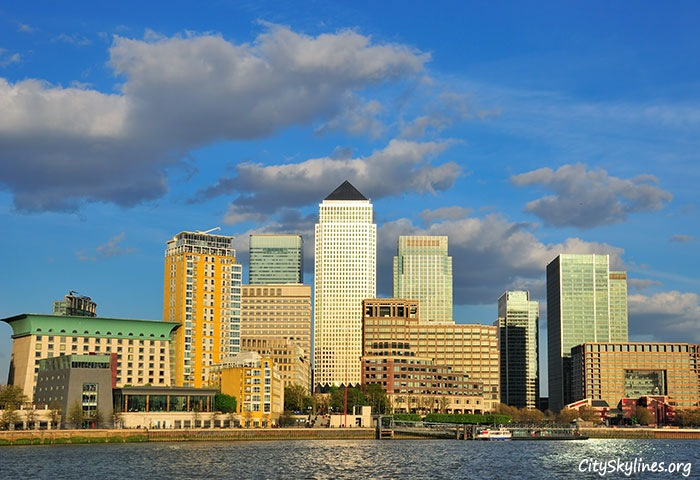 City of London Skyline, Harbor View