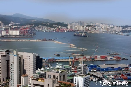 Port of Busan Skyline, South Korea