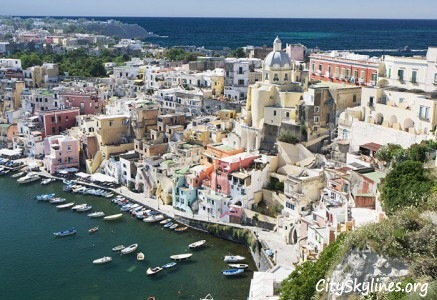 Procida Skyline - Ocean Overlook