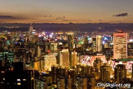 Taipei City Skyline, Republic of China